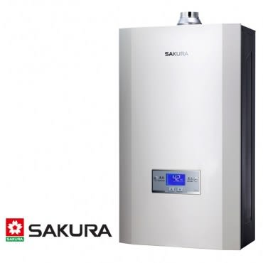 櫻花 SAKURA 渦輪增壓智能恆溫熱水器 16L DH1693(NG1/FE式)