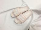 IMPACT Reebok Classic Slide 粉 白字 裸膚粉 涼鞋 拖鞋 休閒 女鞋 百搭 CN4086