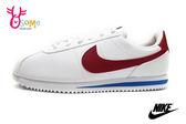 NIKE阿甘鞋 現貨 正版 白紅 Cortez Basic SL (GS)女鞋 復古運動鞋N7176◆OSOME奧森童鞋