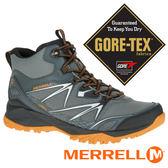【美國 MERRELL】CAPRABOLD男GORE-TEX中筒戶外多功能鞋 灰色 35981 健行鞋│休閒鞋│登山鞋