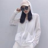 防曬衫外套女2020夏韓版超薄ins超火的冰絲棉質防曬衣空調小開衫-米蘭街頭