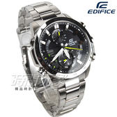 EDIFICE EQB-900D-1A 全新精選太陽能電力藍芽錶 不鏽鋼 男錶 黑面 EQB-900D-1ADR CASIO卡西歐