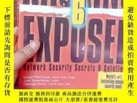 二手書博民逛書店Hacking罕見Exposed, Sixth Edition: