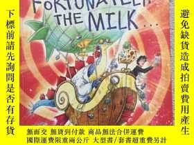 二手書博民逛書店Schol罕見Fortunately the MilkY1913