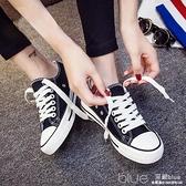 現貨 球鞋小白帆布女鞋春季板鞋韓版單鞋百搭潮鞋學生布鞋  【全館免運】