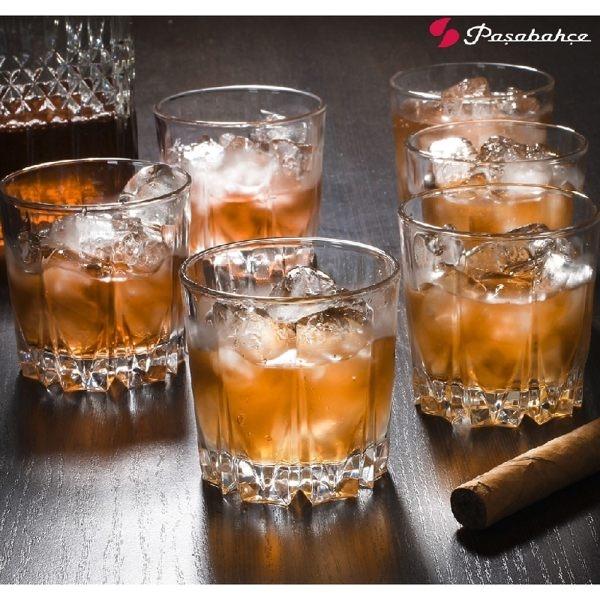 Pasabahce Karat卡拉特鑽紋威士忌杯 果汁杯 冷飲杯 水杯 300ml 300cc 玻璃杯