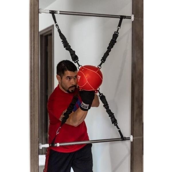 【VENUM旗艦店】 TITLE 門框式拳擊真皮訓練球 居家訓練 簡易安裝
