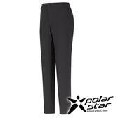 PolarStar 彈性抗UV窄管九分褲 女『黑』 顯瘦直筒褲│釣魚褲│防曬褲│西裝褲 P16352