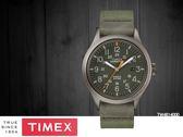 【時間道】TIMEX天美時 遠征系列復刻腕錶– 軍綠面灰殼軍綠帆布帶(TW4B14000)免運費