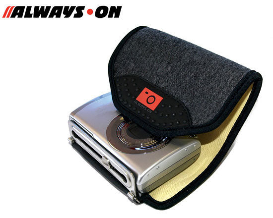 ALWAYS-ON 歐威士王 WRAP-UP 灰色 相機護套 ★出清特價★ (立福公司貨) 相機套 相機包