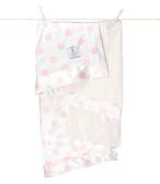 頂級 冬季首選 Little Giraffe 美國 嬰兒被|頂級攜帶毯 - 豪華彩色奶油點點嬰兒毯(粉紅款)  LXSNDBKTPK