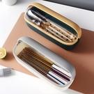 筷籠筷子收納盒家用瀝水餐具籠筷子盒帶蓋防塵廚房筷子筒筷子簍【八折下殺】