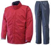 Puro Monte 日本 GT50 防水透氣衣+褲 日本製 女款 SR130W 正紅 Gore-Tex 防水 透氣 [易遨遊]