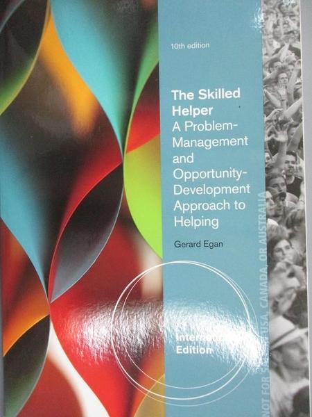 【書寶二手書T5/心理_ESN】The Skilled Helper_Gerard Egan