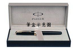 Parker商籟(高尚系列)純銀格紋珍珠白18k鋼筆