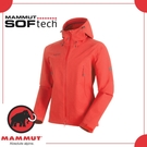 【MAMMUT AC Masao SO Jkt 男《岩漿紅》】1011-00460-3465/保暖外套/防風/連帽外套/軟殼