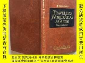 二手書博民逛書店Traveler s罕見World Atlas & Guide
