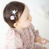 星星紗球小髮夾組 兒童髮飾 兒童髮夾 星星髮夾 髮夾