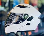 SBK安全帽,可掀式全罩安全帽,SV,素/白