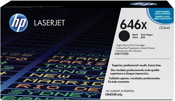 CE264X (646X) HP 原廠黑色高容量碳粉匣 適用 Color LaserJet Enterprise CM4540f/CM4540fskm