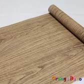 自黏壁紙【橘果設計】10米長 壁紙 木紋風格 DIY組合壁貼 牆貼 壁紙 壁貼 室內設計 裝潢 壁貼