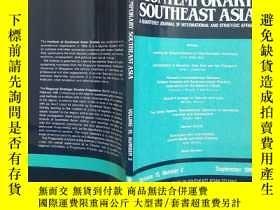 二手書博民逛書店CONTEMPORARY罕見SOUTHEAST ASIA 199