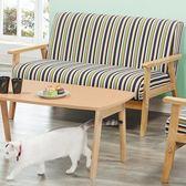 【新北大】✪ Q97-2 1號沙發雙人椅-18購