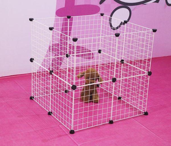 百變多功能柵欄超強承重鐵籠子寵物小中型狗貓咪兔子小豬圍欄柵欄 母親節禮物