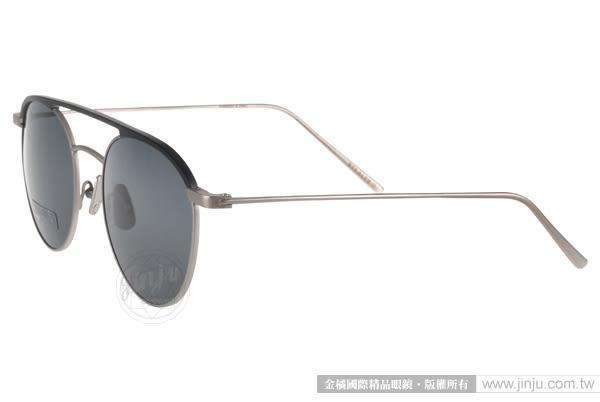 STEALER 太陽眼鏡 INDIGO C10 (黑-銀) 前衛時尚圓框款 # 金橘眼鏡