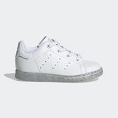 Adidas Stan Smith El I [EE7597] 小童鞋 運動 休閒 復古 經典 潮流 穿搭 愛迪達 白灰