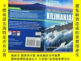 二手書博民逛書店The罕見Missing Snows of KILIMANJAR