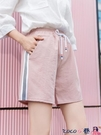 熱賣棉麻五分褲 棉麻休閒短褲女外穿夏季2021新韓版高腰五分寬鬆學生運動寬鬆短褲 coco