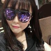 眼鏡片 夾片式男女偏光太陽鏡開車蛤蟆眼鏡防眩光墨鏡夾片  創想數位