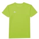 KAPPA義大利舒適小童吸溼排汗男款圓領T恤 檸檬綠 321B2BWB33
