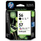CC629AA HP 56+57組合包 CC629A 適用 DJ450/5550;PSC1315/1350/2110/2210/2310/2410/2510;PS7550/7150/7660/7760