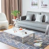 墊子幾何客廳沙發地毯臥室滿鋪房間圈絨床邊毯茶幾墊地墊  萬客居