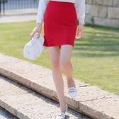 多色高腰百搭OL上班窄裙/深藍/紅色/杏粉[20S56-PF]小三衣藏