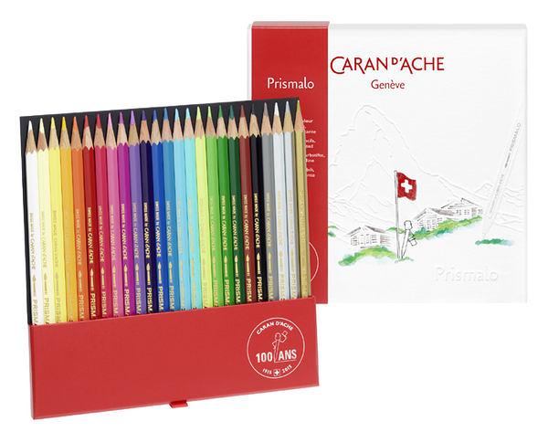 Caran d'Ache 100ANS 限量版 Prismalo 水性色鉛筆(25色)