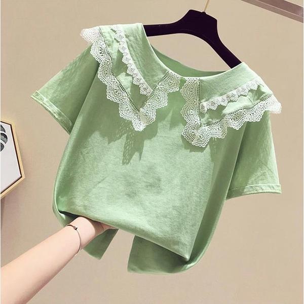 女童T恤短袖2020夏裝新款洋氣小女孩潮童裝夏季半袖韓版兒童上衣 小艾時尚