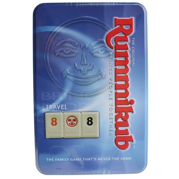Rummikub Tin Mini 拉密(鐵盒) NO.1520 拉密數字磚塊牌/一盒入{促780} 拉米牌遊戲 桌遊 拉密牌