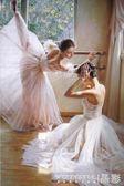 拼圖  成人1000片木質拼圖1500益智玩具禮物歐洲人物油畫裝飾畫芭蕾舞者  晶彩生活