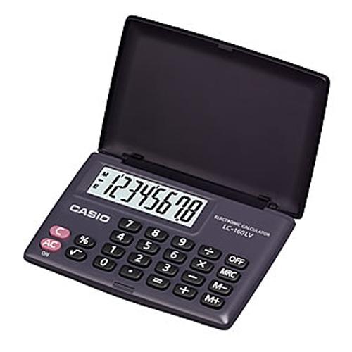 CASIO 計算機專賣店 LC-160LV 攜帶型國考計算機 8位數 大字幕顯示