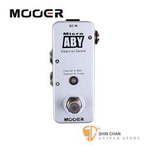 【缺貨】Mooer Micro ABY 正反雙向訊號選擇器【Channel Switch Pedal】【Micro系列MA】
