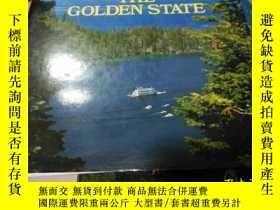 二手書博民逛書店THE罕見GOLDEN STATEY14419 TEXT BY