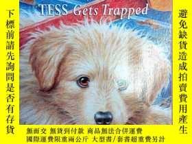 二手書博民逛書店英文原版書:Tess罕見Gets Trapped (Home F