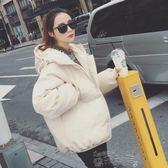 棉衣韓版2018冬季新款羽絨棉服面包服女短款蓬蓬棉衣棉襖加厚外套 雲朵走走