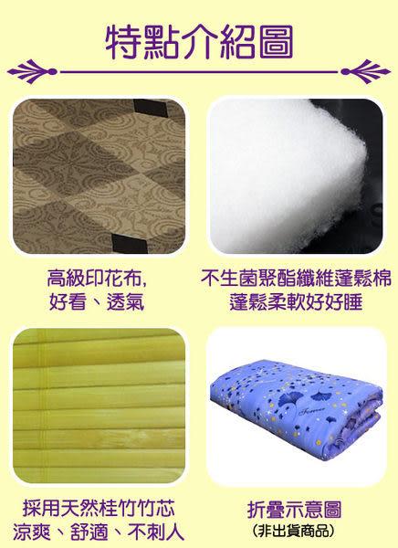 《家購網寢俱館》星辰系列-本土冬夏兩用折疊床墊-單人