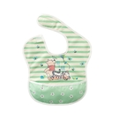 Baby City娃娃城 迪士尼 收納式防水圍兜 (維尼綠) 232元