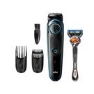 [2美國直購] Braun 電動修容組(理髮器刀 BT5240 + 吉列 Fusion5刮鬍刀) B07XQBZ3J8