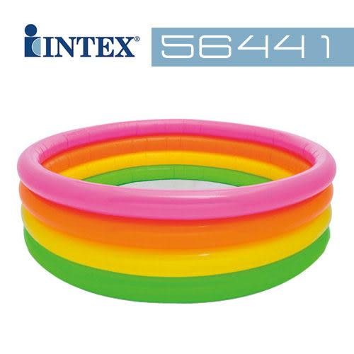【美國 INTEX】戲水系列-四層彩色泳池/戲水池/游泳池 56441